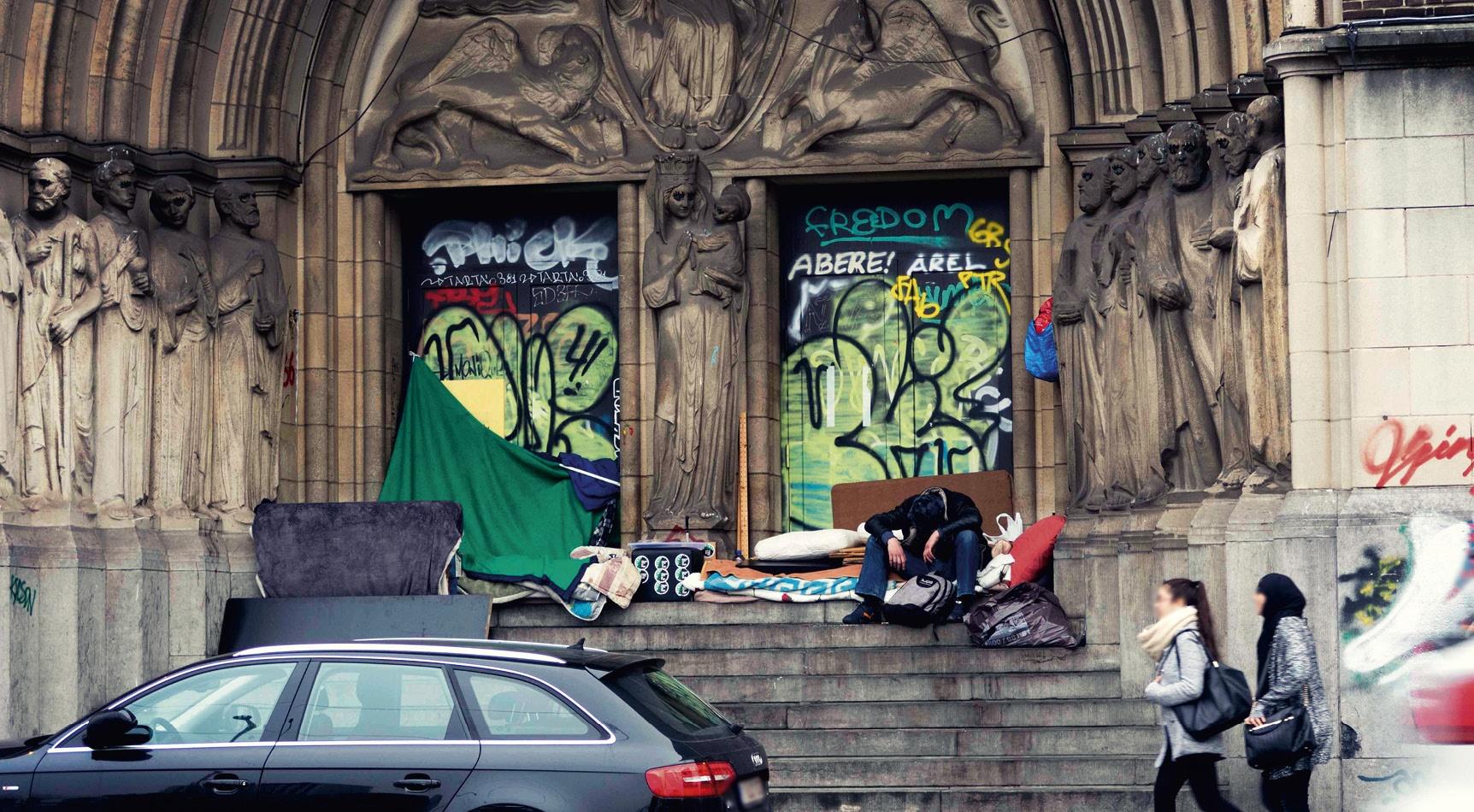 Collectif d'opposition à la loi anti-squat en Belgique